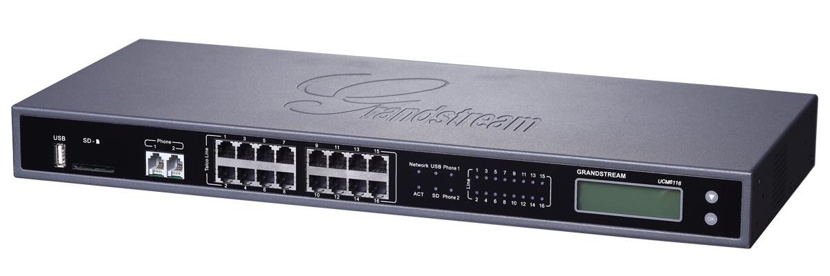 Centrales IP con entradas análogas